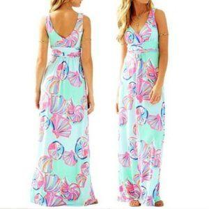 Lilly Pulitzer Sloan Minty Fresh Maxi Dress